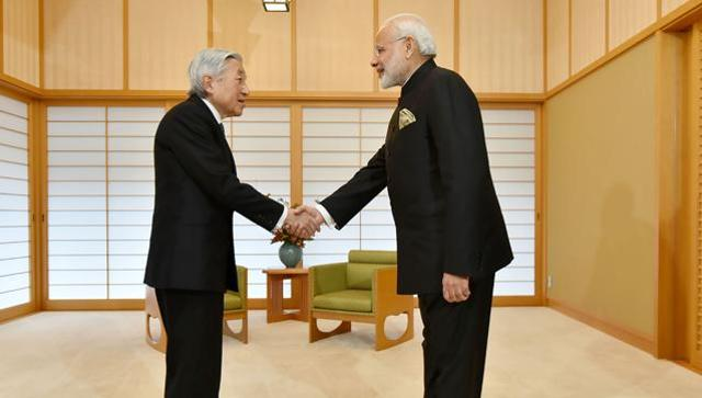 PM Modi calls on Japanese emperor ahead of bilateral talks with Abe