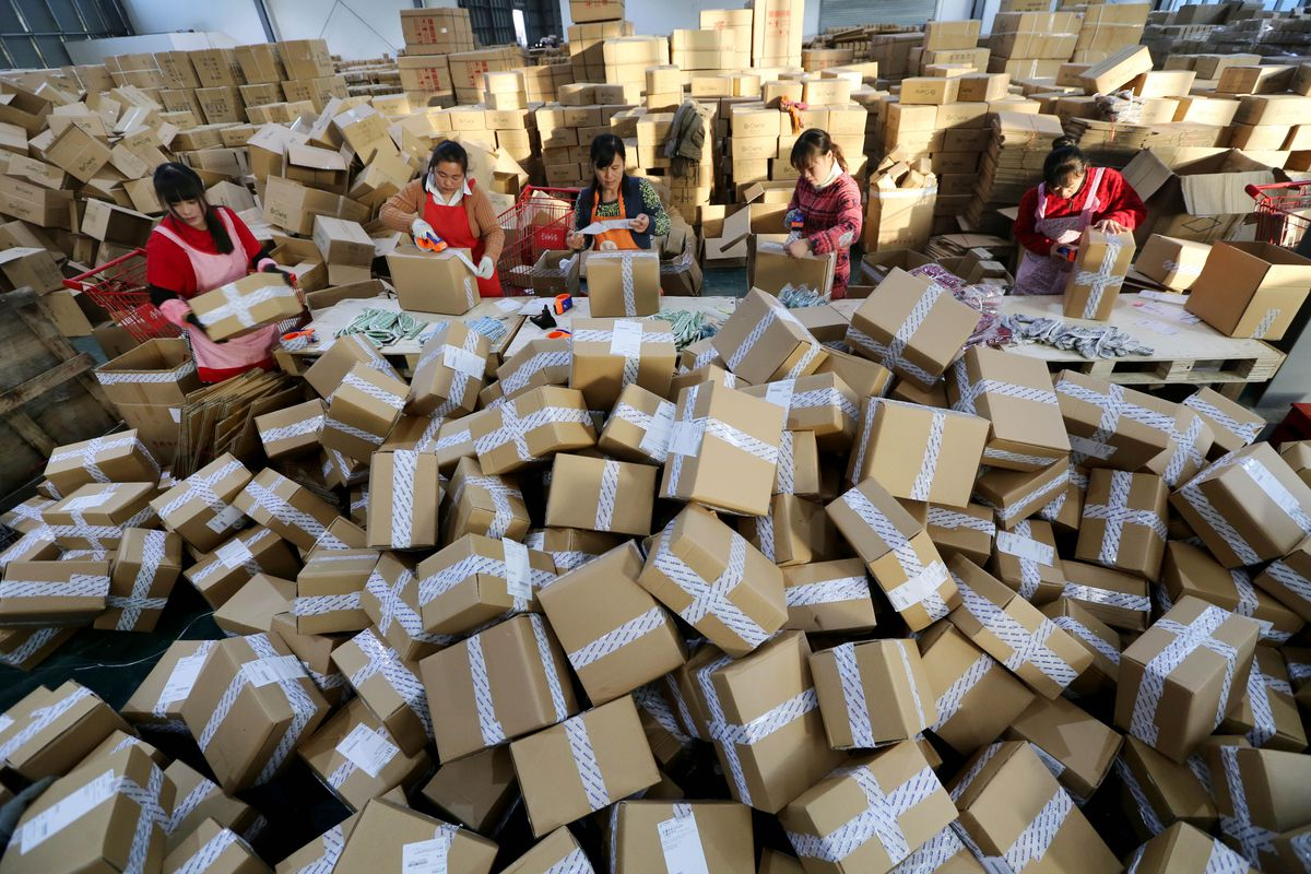 How even rural areas in China are hooked on online shopping