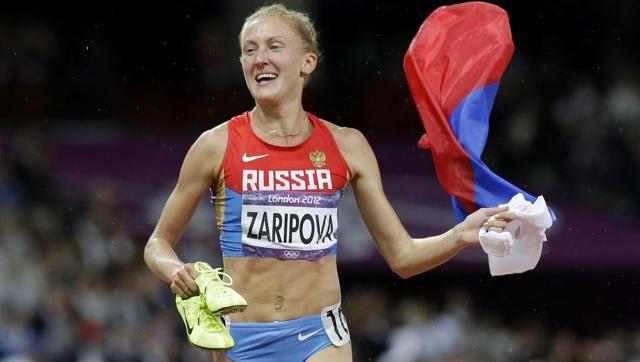 Yuliya Zaripova of Russia stripped of London Olympics steeplechase gold medal
