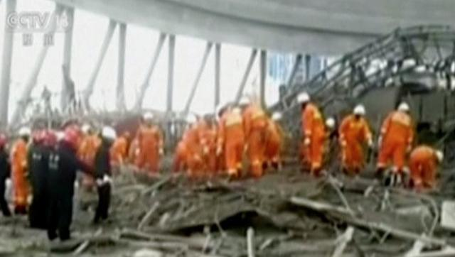 China power plant collapse kills at least 40: Xinhua