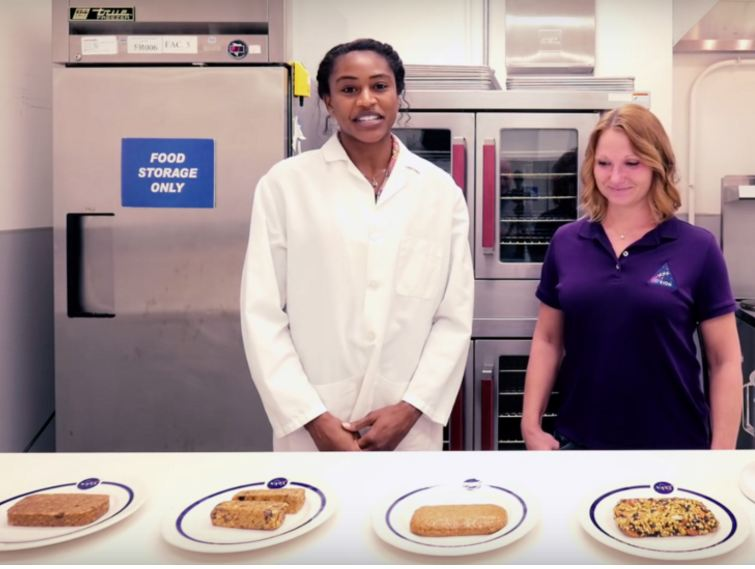 NASA Developing Food Bars for Mars Missions