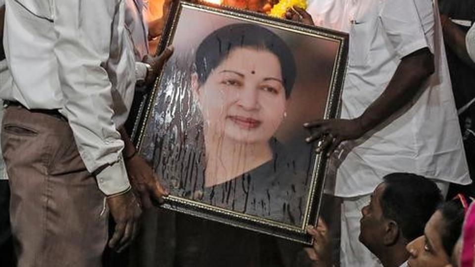 Tamil Nadu CM Jayalalithaa dies at 68, to be cremated at MGR's memorial site