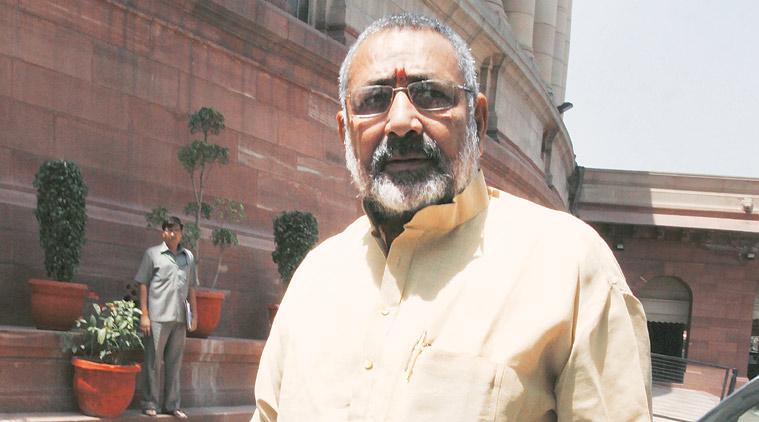 Giriraj Singh again: Need law to control population