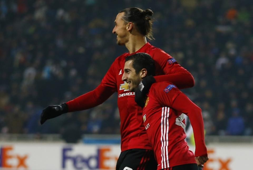Henrikh Mkhitaryan, Zlatan Ibrahimovic come good for Manchester United