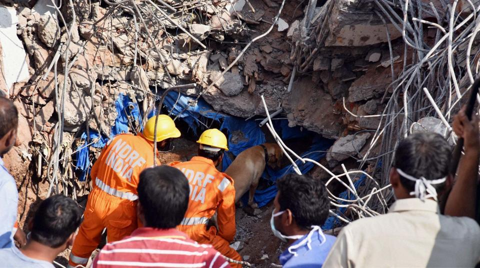 Hyderabad: 11 bodies recovered from collapsed building, search ops called off