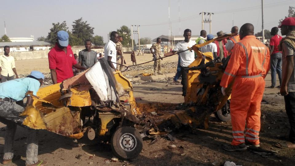 Nigeria: Two women suicide bombers kill 45 in crowded market, Boko Haram blamed