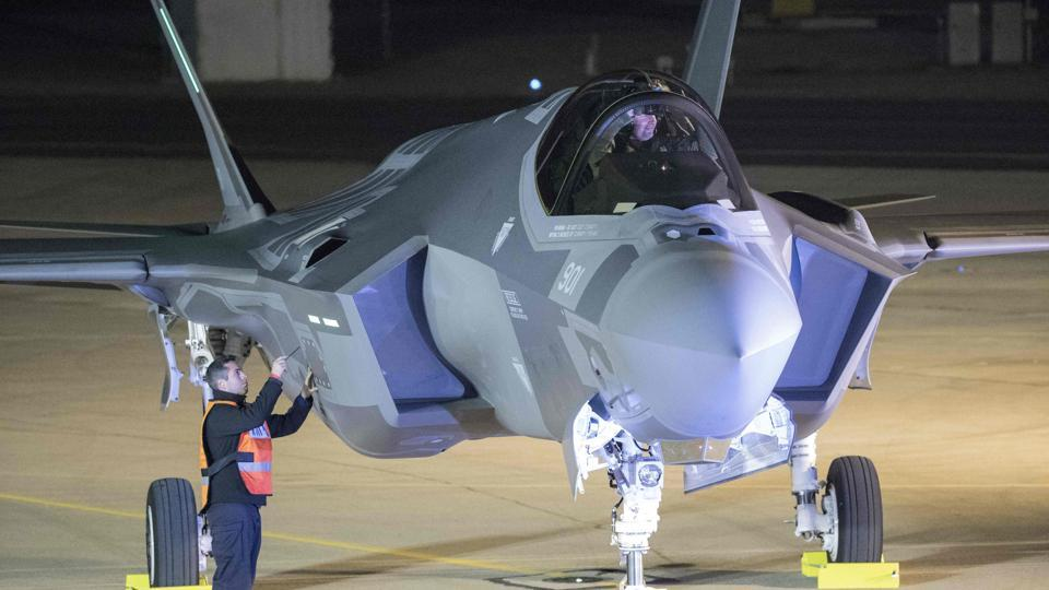 Israel's first F-35 jets land as Trump blasts costs