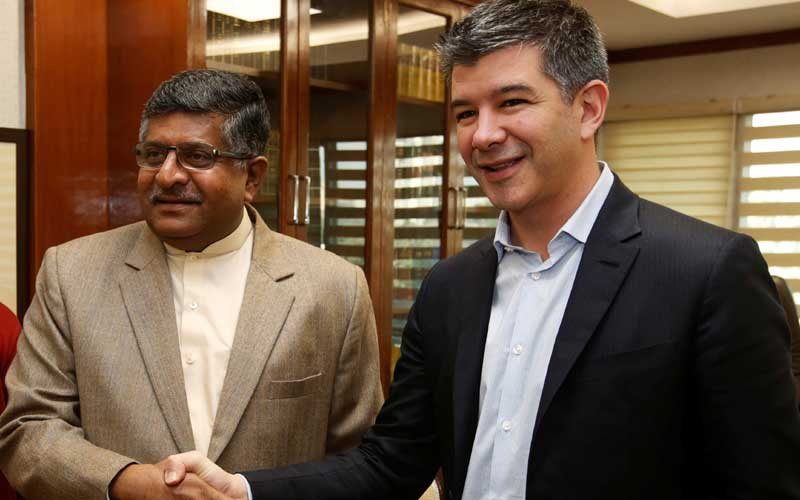 Uber, Ola are both 'foreign-owned', says Uber CEO Travis Kalanick