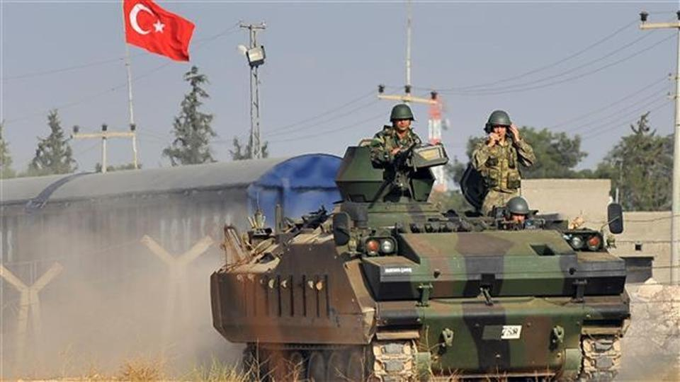 14 Turkish soldiers killed in fight for Syria IS-held town