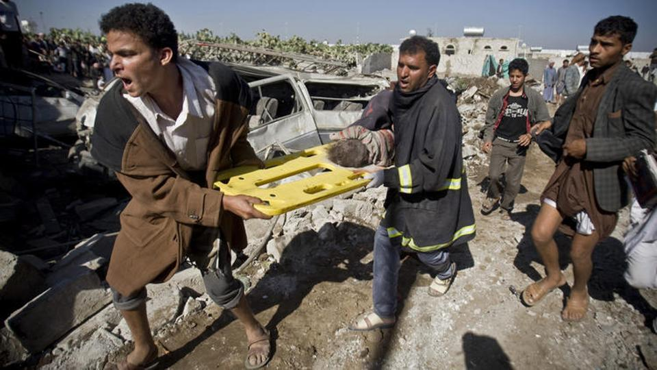 Saudi Arabia-led coalition used banned cluster bombs on school attacks in Yemen: HRW