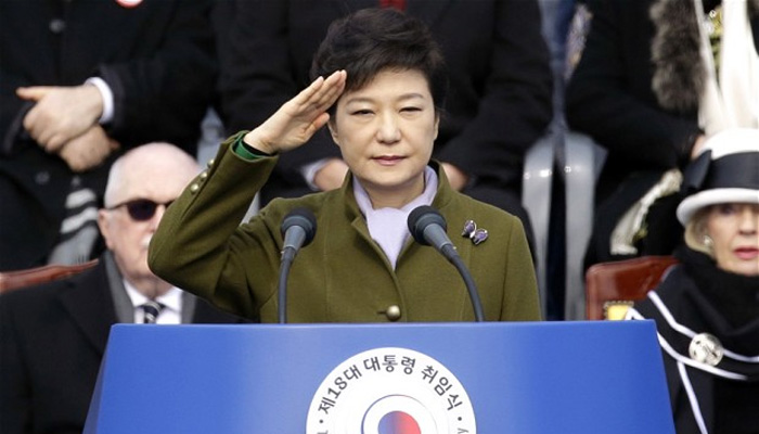 South Korean ruling party splits over impeached President Park Geun-hye