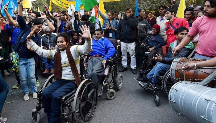 Disabled may get 5 percent quota in colleges from next session