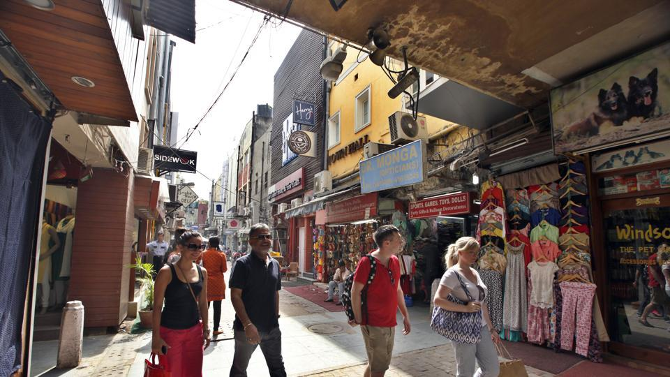 At Delhi's Khan Market, service charge is not exactly optional