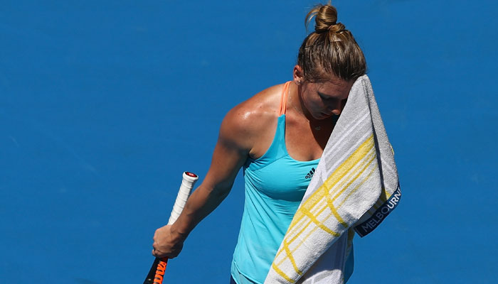 Australian Open 2017: Simona Halep knocked out in first round by America
