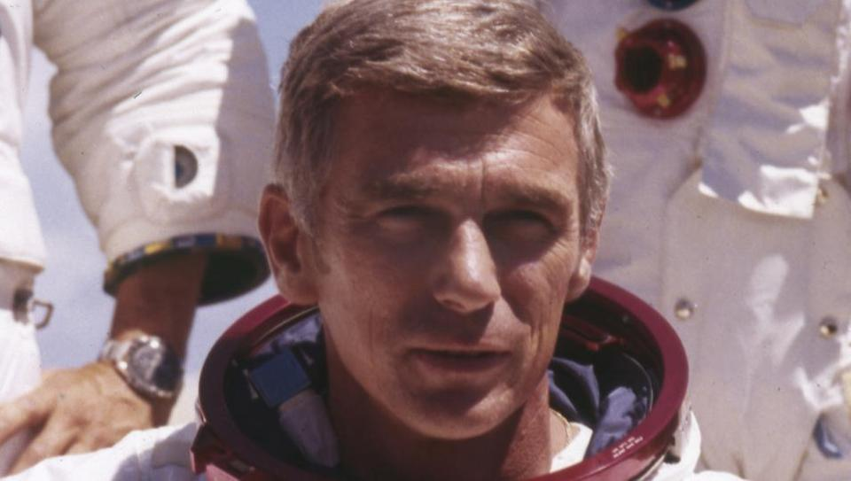 Nasa astronaut Gene Cernan, last man to walk on the moon, dies at 82