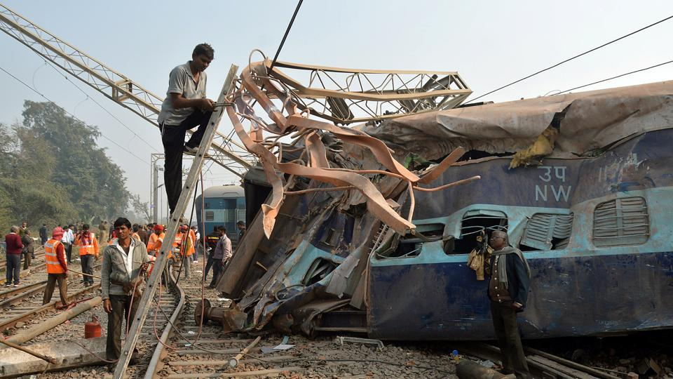 Kanpur train accident: 2 people questioned in Delhi over suspected terror angle