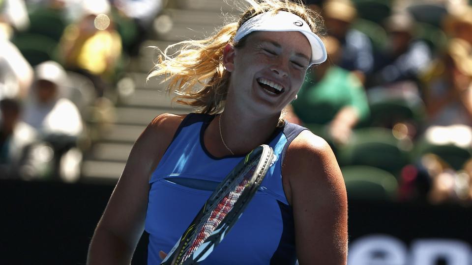 CoCo Vandeweghe thrashes Garbine Muguruza to enter Australian Open semifinals