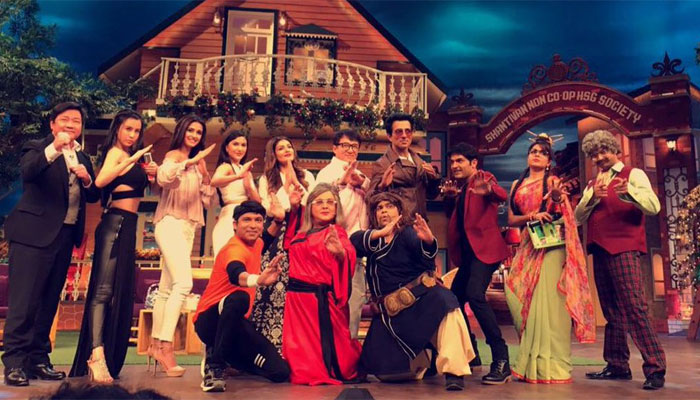 Jackie Chan on the sets of 'The Kapil Sharma Show'