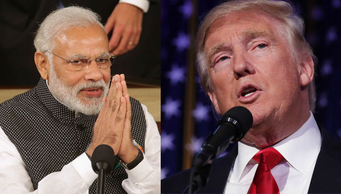 Taking ties forward, PM Narendra Modi invites Donald Trump to India, vows to fight terror with US