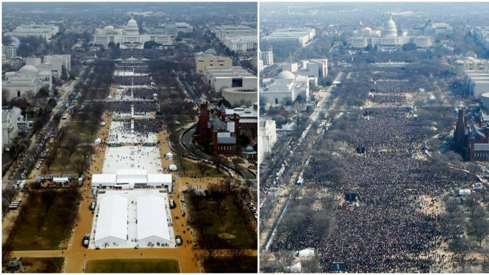 Trump called park official to dispute inauguration crowd photos: report