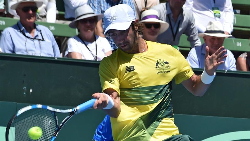 Davis Cup World Group: Australia take 1-0 lead over Czech Republic