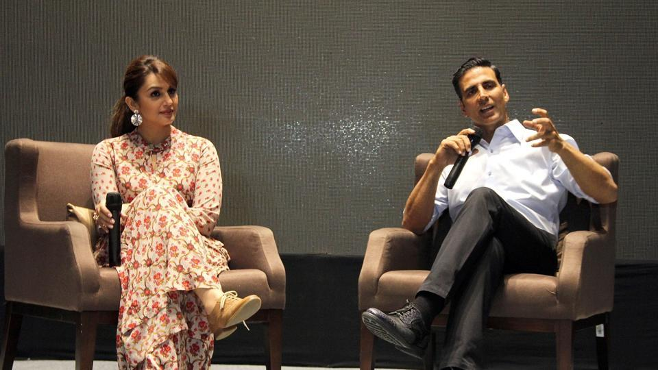 I felt the character of Jolly is like Birbal: Akshay Kumar promotes Jolly LLB 2 in Ahmedabad