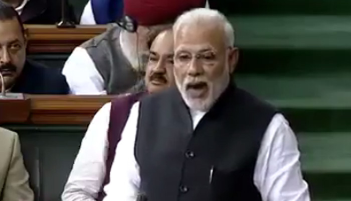 PM Modi retorts to Congress attack on democracy in Lok Sabha, justifies note ban