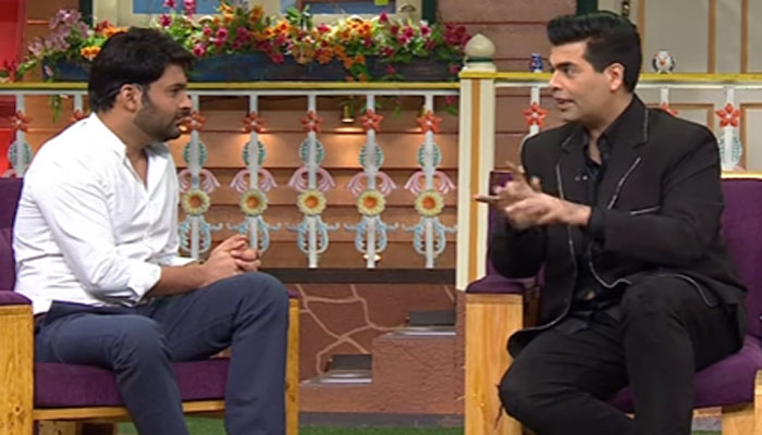 Karan Johar stumps Kapil Sharma by asking an 'uncomfortable' question on 'Koffee With Karan'