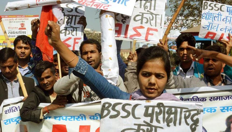 Bihar job exam cancelled over question paper leak, BSSC secretary arrested