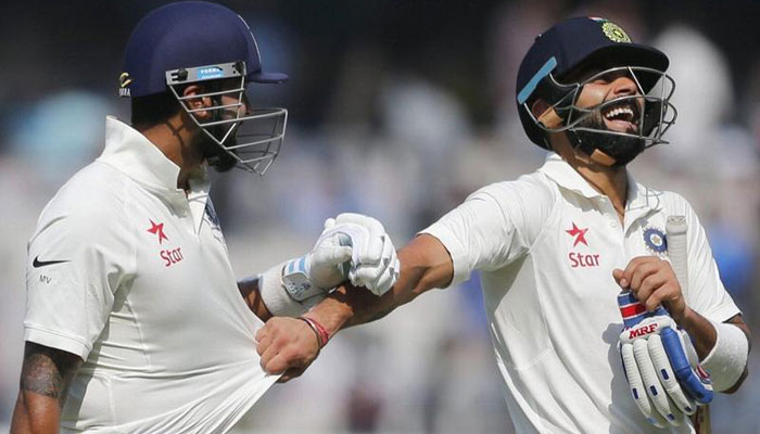 India vs Bangladesh, Day 2 – Kohli, Rahane bring up 150-run partnership for 4th wicket
