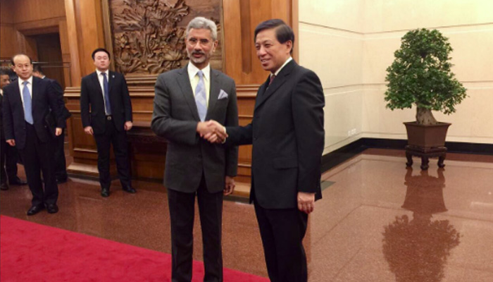 "India, China hold first key discourse; Jaishankar says ""nearer advancement organization"" unfurling"