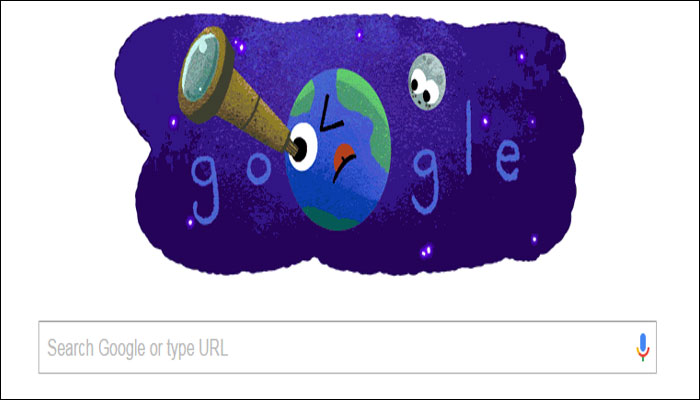 Google celebrates NASA