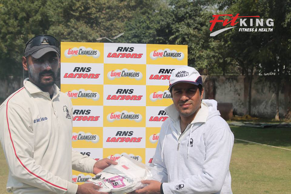 Corporate Cricket Championship : FITKING WON THE MATCH