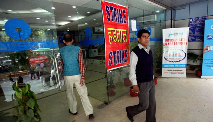 Bank employees go on strike; cash deposits, cheque clearances, withdrawal services hit hard
