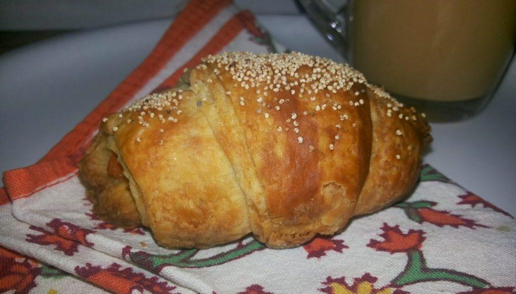 Cheese Tikka Croissant Recipe
