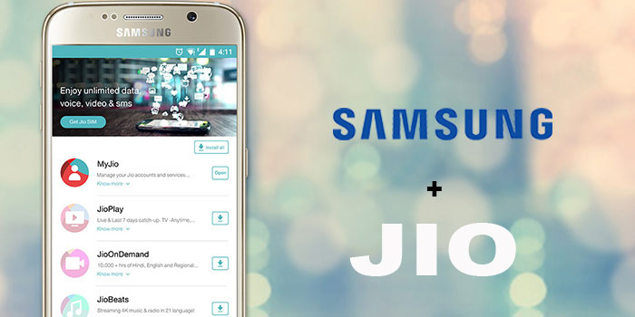 Reliance Jio Partners With Samsung To Improve LTE Services