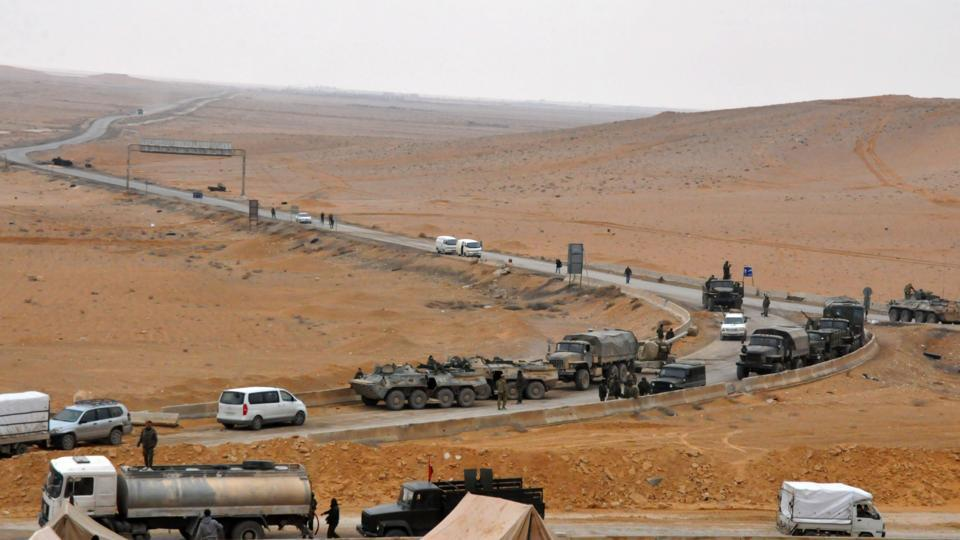 Syria troops, backed byRussian jets recapture antiquated Palmyra from Islamic State