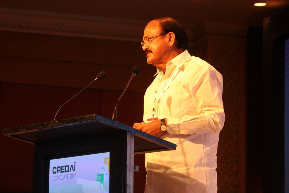 Stick to what's promised in advertisements and deliver projects on time, Venkaiah Naidu advises builders