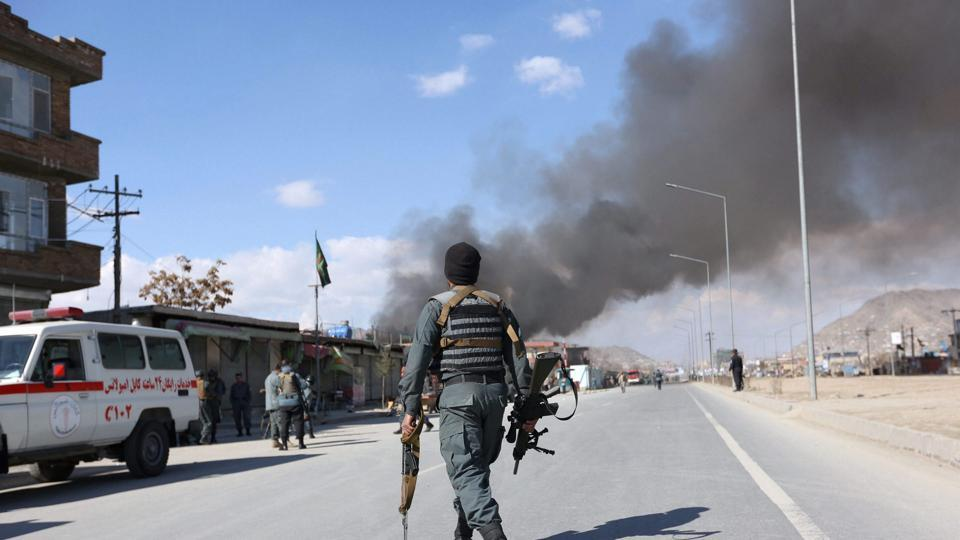 Blast, gunfire reported at hospital in Kabul