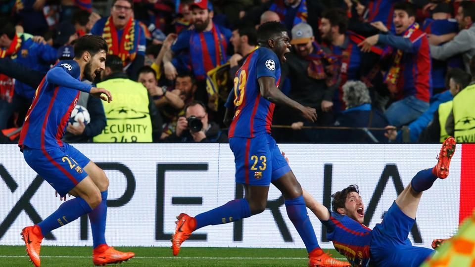 FC Barcelona give world 'sound of happiness' post comeback win vs PSG