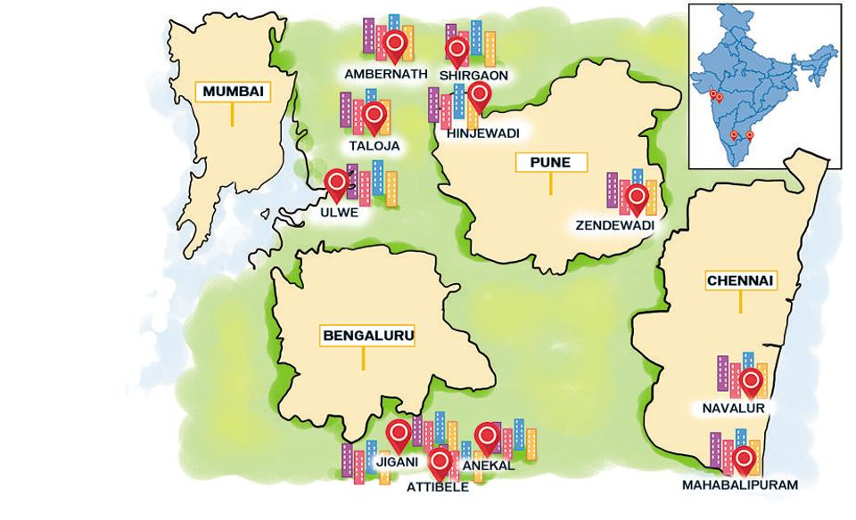 Incidental advantages: suburbs are growing crosswise over urban India