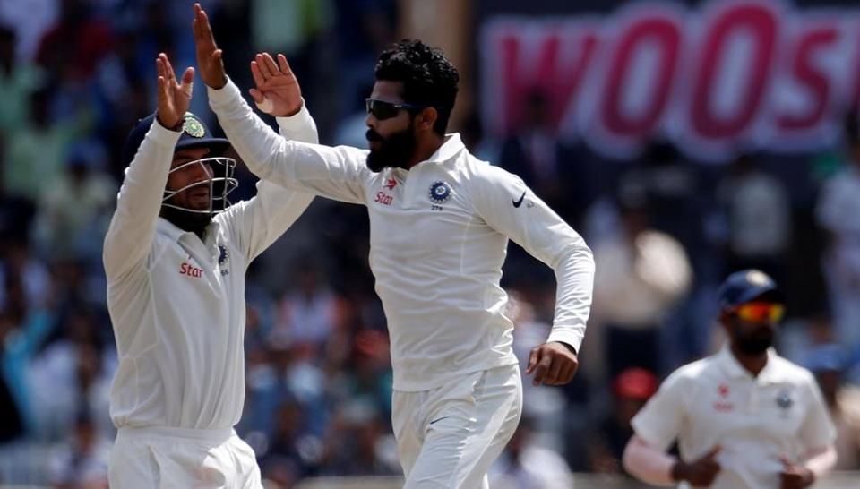 Ravindra Jadeja strikes after Steve Smith, Glennn Maxwell onslaught on Day 2