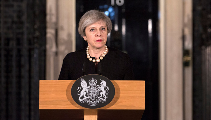 Five killed, 40 injured in London terror attack ; PM Theresa May says UK Parliament to convene on Thursday