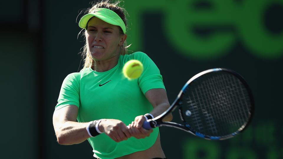 Eugenie Bouchard's poor form continues, exits Miami Open first round