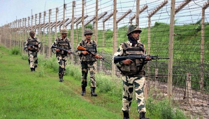 Suspected pakistani intruder shot dead by BSF along International Border in Punjab