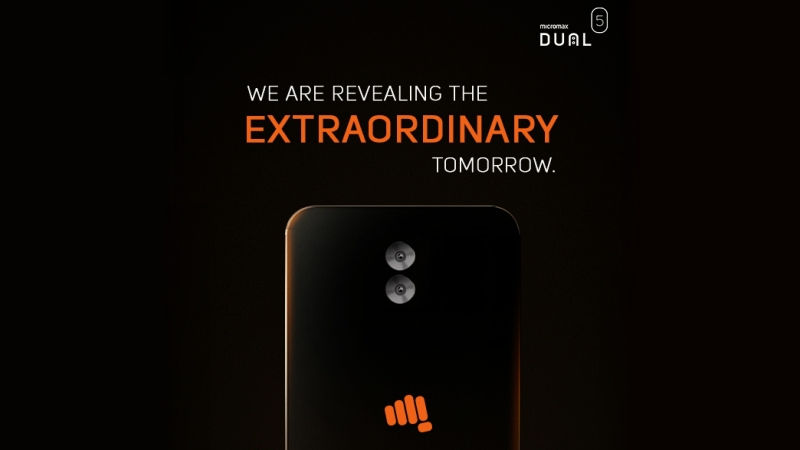 Micromax Dual 5 India Launch Set for Today; How to Watch Live Stream