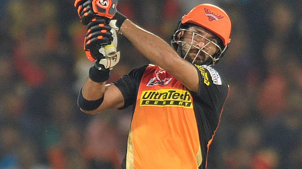 Yuvraj Singh wreaks havoc as Sunrisers Hyderabad beat Royal Challengers Bangalore.