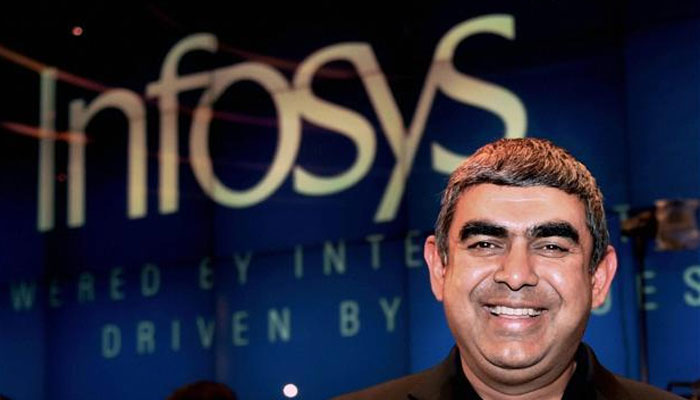 Infosys Q4 net profit at Rs 3,603 crore, FY18 revenue guidance at 6.5-8.5%