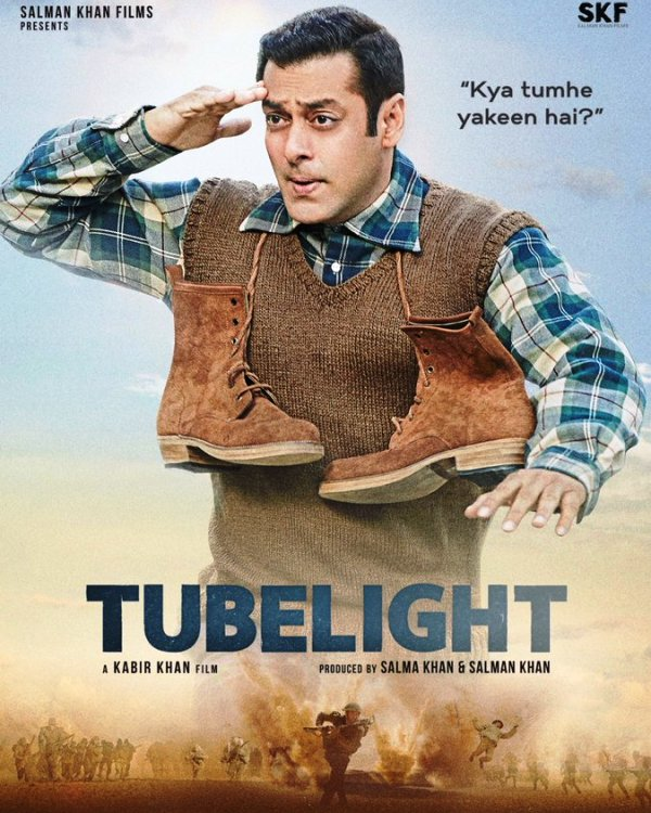 Tubelight new poster: Salman Khan's innocent yet mischievous avatar will make you energized for the film