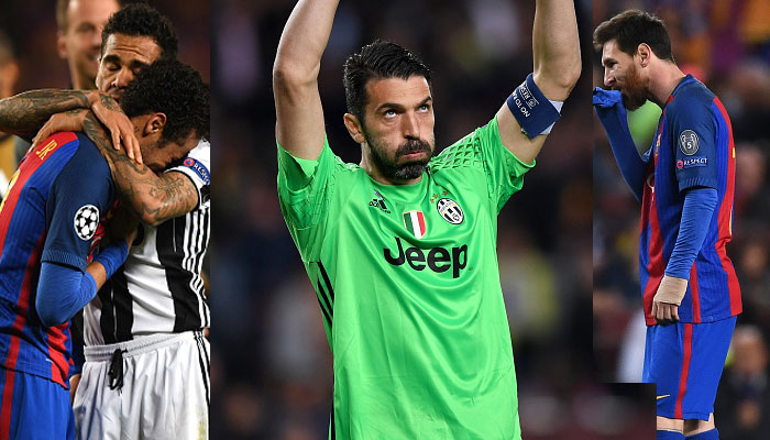 Steely Juventus shut down Barcelona with 0-0 draw, advance into semi-finals:UCL
